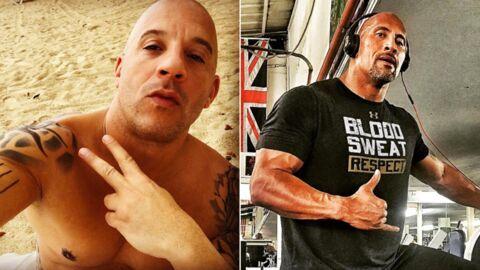 Voici pourquoi Vin Diesel et Dwayne Johnson se sont fâchés sur le tournage de Fast & Furious 8