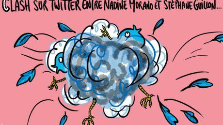 Louison a croqué… Stéphane Guillon et Nadine Morano se chamaillent sur Twitter