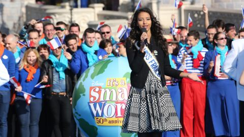 VIDEO Flora Coquerel et Vincent Niclo célèbrent les 50 ans de « It's a small world »