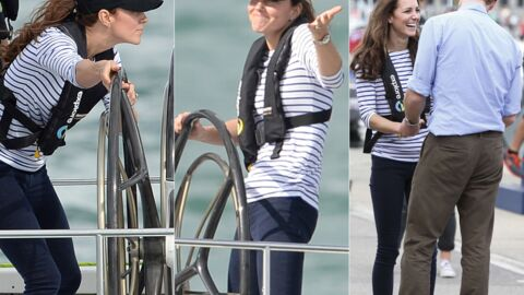 PHOTOS Kate Middleton bat le prince William dans une course de bateaux