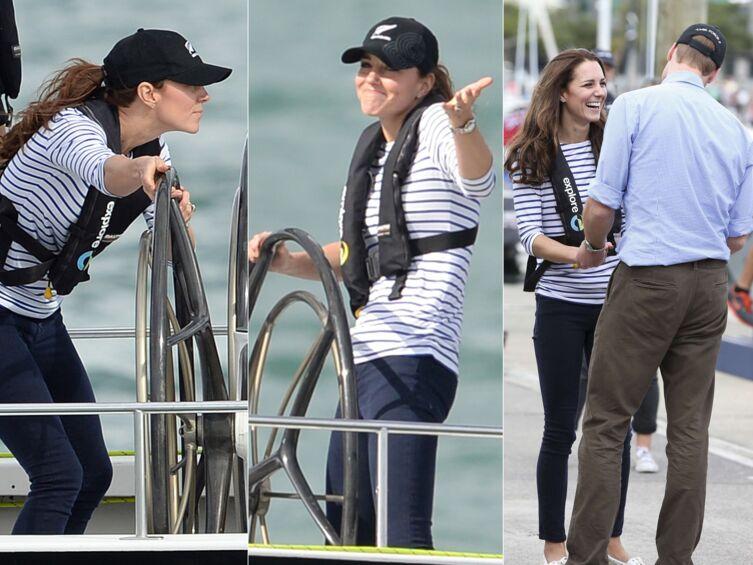 PHOTOS Kate Middleton bat le prince William dans une course de bateaux