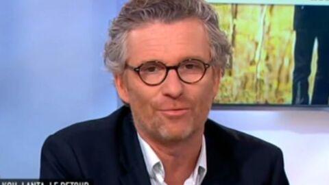 VIDEO Denis Brogniart apporte son soutien à Louis Bodin
