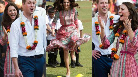 PHOTOS Kate Middleton et le prince William s'éclatent comme des petits fous en Inde