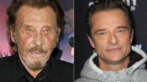 PHOTO Johnny Hallyday plus complice que jamais avec son fils David