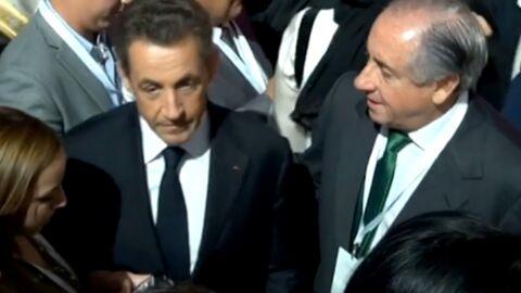 Face aux caméras, Nicolas Sarkozy et Cécilia Attias s'ignorent à Doha