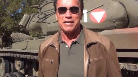 Arnold Schwarzenegger offre la possibilité de gagner… une virée dans son tank perso!