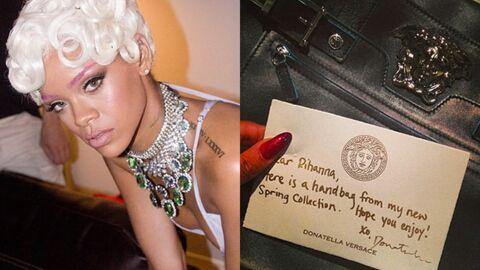DIAPO Pour Rihanna, c'est Noël avant l'heure!