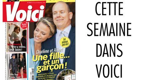 Dans Voici demain: les jumeaux de Monaco et les photos de la fête de Valérie Trierweiler