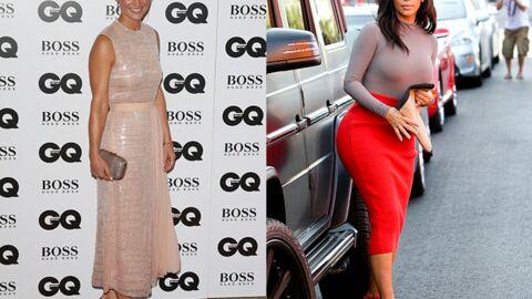 Culottée, Pippa Middleton critique les fesses de Kim Kardashian