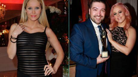 DIAPO Tatiana Laurens en robe très transparente, Chris Marques et sa femme très amoureux à la soirée The Best