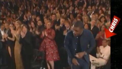 Chris Brown très mauvais perdant aux Grammy Awards
