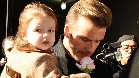 DIAPO David Beckham avec sa fille et sa femme à New York