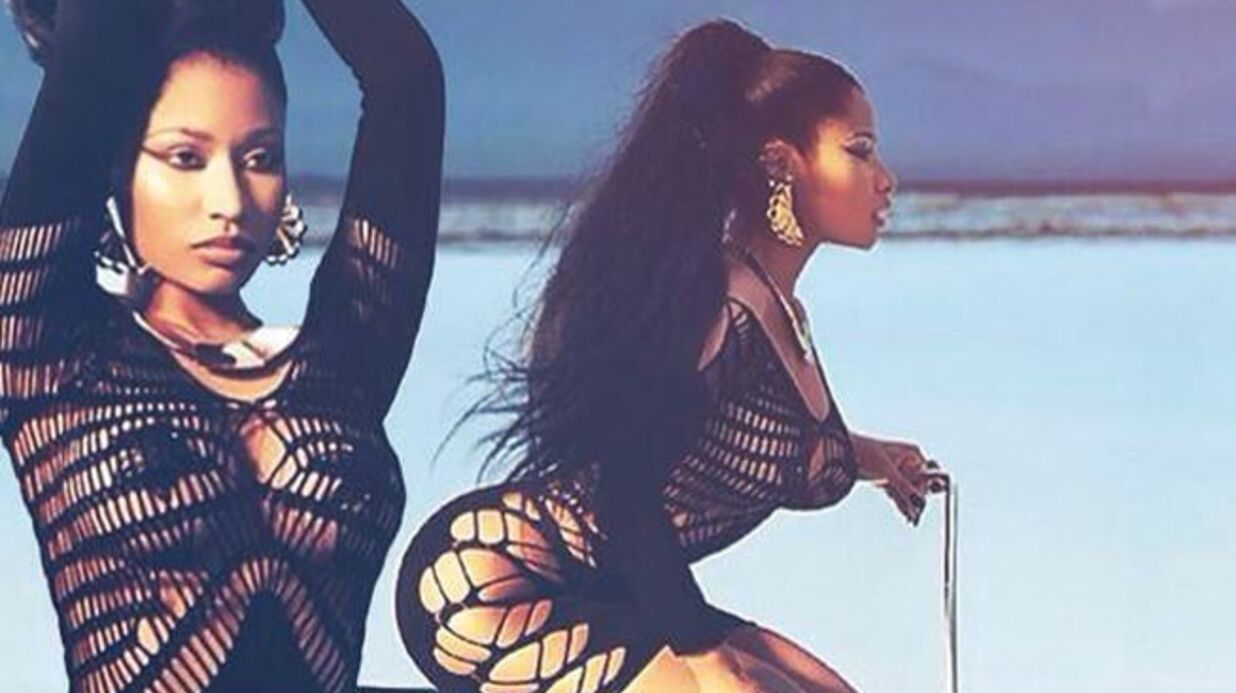 PHOTOS Les dessous sexy du shooting de Nicki Minaj