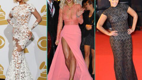 DIAPO Beyoncé, Rita Ora, Amel Bent… les stars sexy en robes transparentes