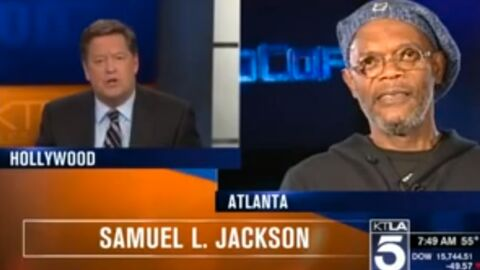 VIDEO Samuel L. Jackson tacle un journaliste qui le confond avec Laurence Fishburne