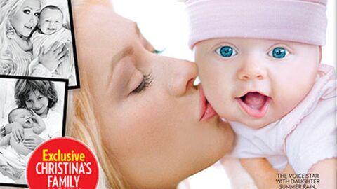 PHOTO Christina Aguilera présente sa fille Summer Rain