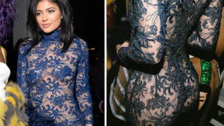 PHOTOS Kylie Jenner ose une combinaison en dentelle qui laisse tout voir de son anatomie