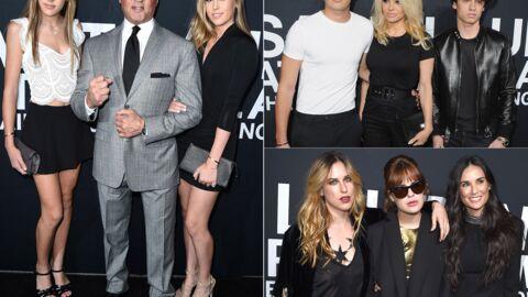 PHOTOS Pamela Anderson, Sylvester Stallone, Demi Moore: défilé de stars avec leurs enfants pour Saint Laurent