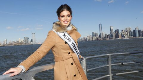 PHOTOS Iris Mittenaere visite New York en compagnie de Miss USA