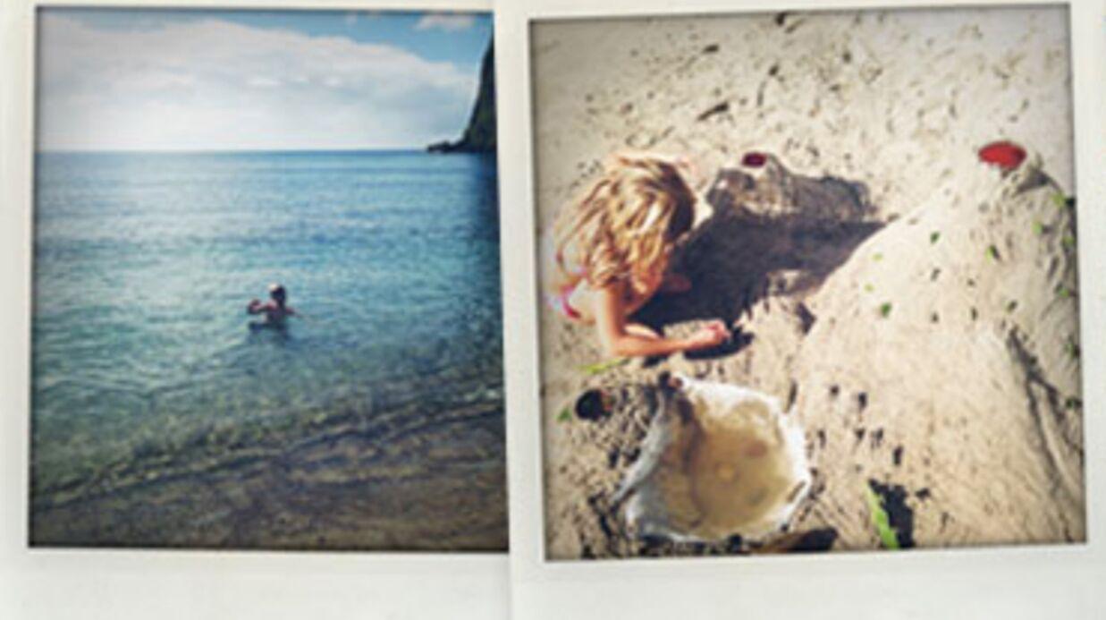 PHOTOS Gwyneth Paltrow pose avec ses enfants à Sainte-Lucie