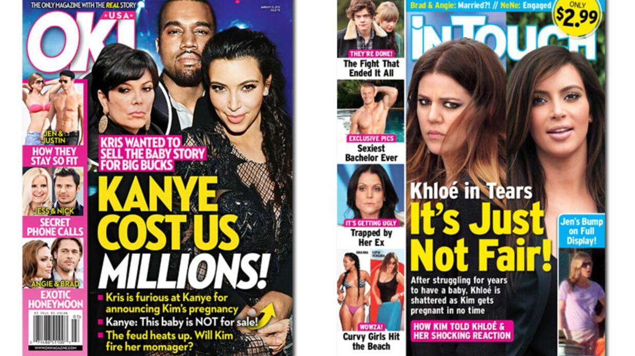 En direct des US: c'est la guerre chez les Kardashian