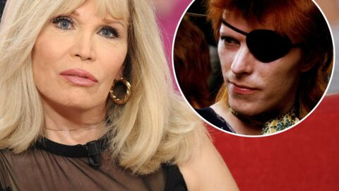 Mort de David Bowie: bouleversée, Amanda Lear revient sur leurs années de vie commune