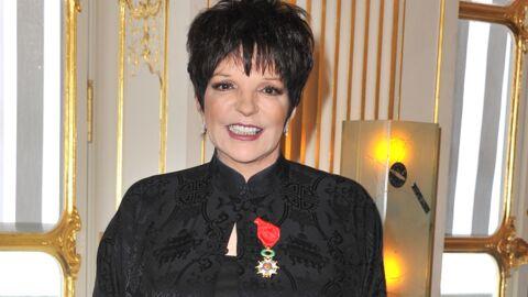 DIAPORAMA Liza Minnelli a reçu la Légion d'honneur