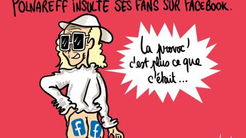 Louison a croqué… Michel Polnareff insulte ses fans sur Facebook