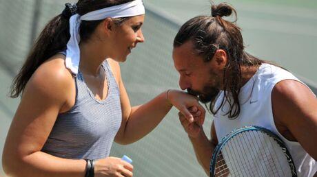 DIAPO Bob Sinclar affronte Marion Bartoli au tennis