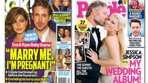 En direct des US: Ryan Gosling bientôt papa! Et bientôt marié, aussi…