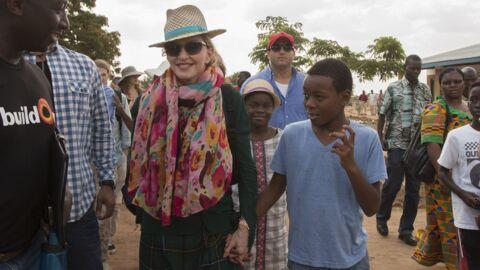 PHOTOS Madonna au Malawi avec son fils adopté là-bas pour une cérémonie solennelle