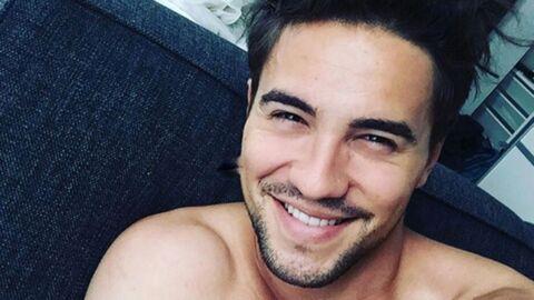 Olivier Dion torse nu et tout en muscles sur Instagram