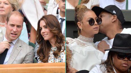 PHOTOS Kate et William, Beyoncé et Jay-Z… les stars ont défilé à Wimbledon