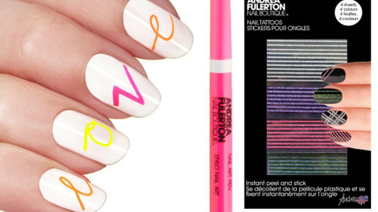 Le Nail Art de l'été selon Andrea Fulerton