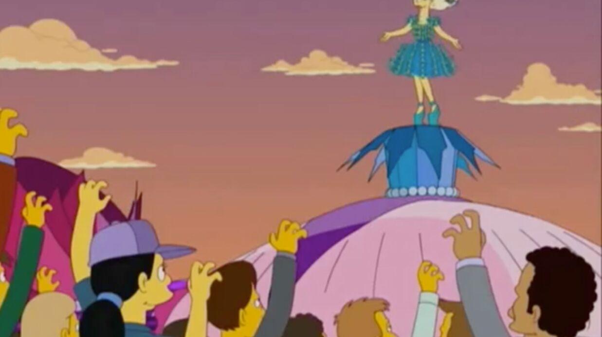 VIDEO Lady Gaga dans les Simpson: les premières images