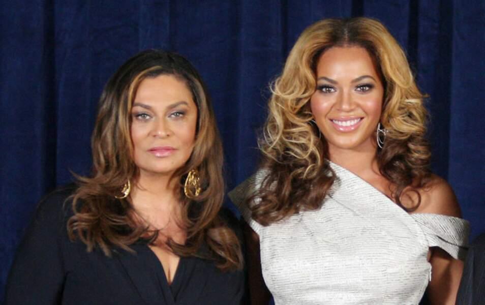 Beyoncé Knowles et sa mère