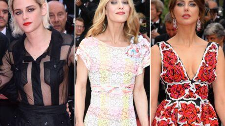 DIAPO Cannes 2016: Kristen Stewart seins nus sous un top transparent, Vanessa Paradis craquante