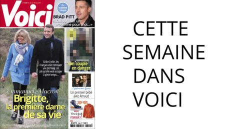 Cette semaine dans Voici: en first lady, Brigitte Macron assure déjà