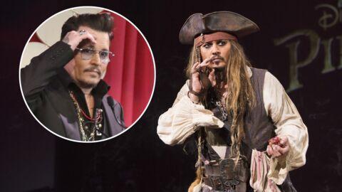 Johnny Depp très dur à gérer pendant le tournage du dernier Pirates des Caraïbes, des témoins racontent
