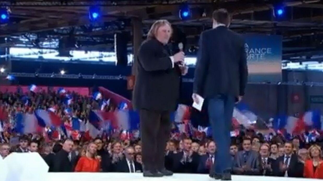 Pourquoi Gérard Depardieu soutient Nicolas Sarkozy