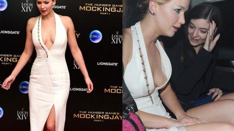 PHOTOS Jennifer Lawrence (trop) sexy pour la première mondiale de Hunger Games