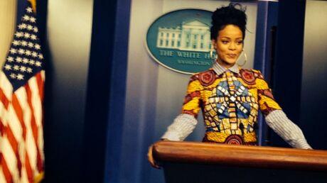 PHOTOS Rihanna rejoue les épisodes de la série Scandal