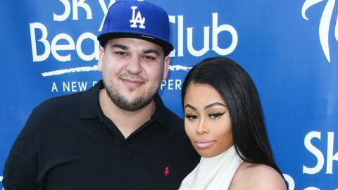 PHOTO Rob Kardashian très fier de Dream, il dévoile la bouille de sa fille