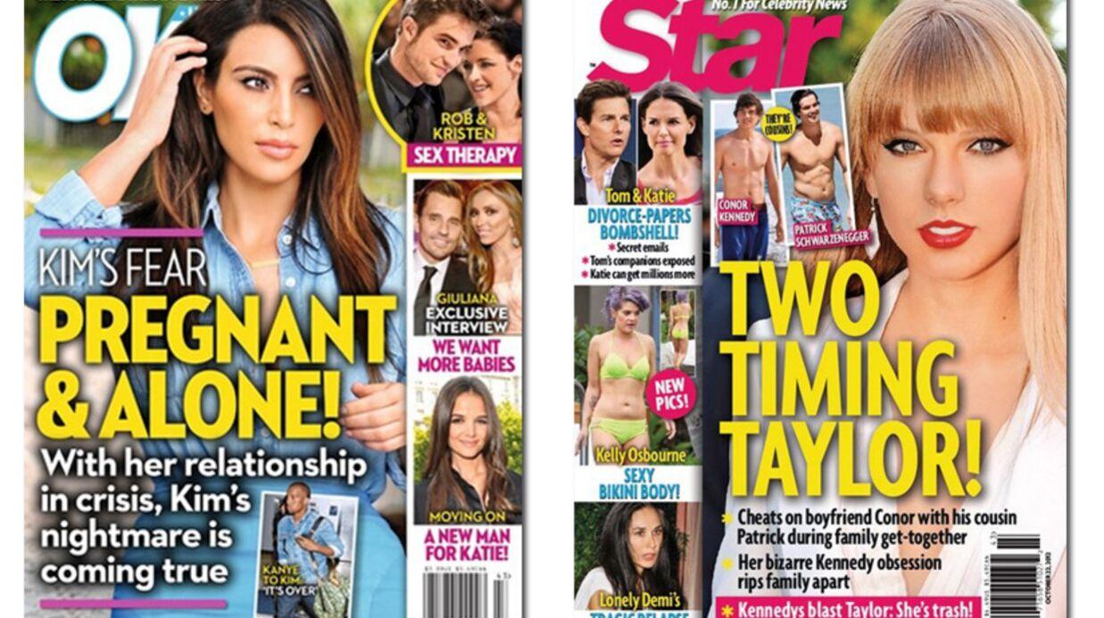 En direct des US: Kim Kardashian bientôt mère célibataire?