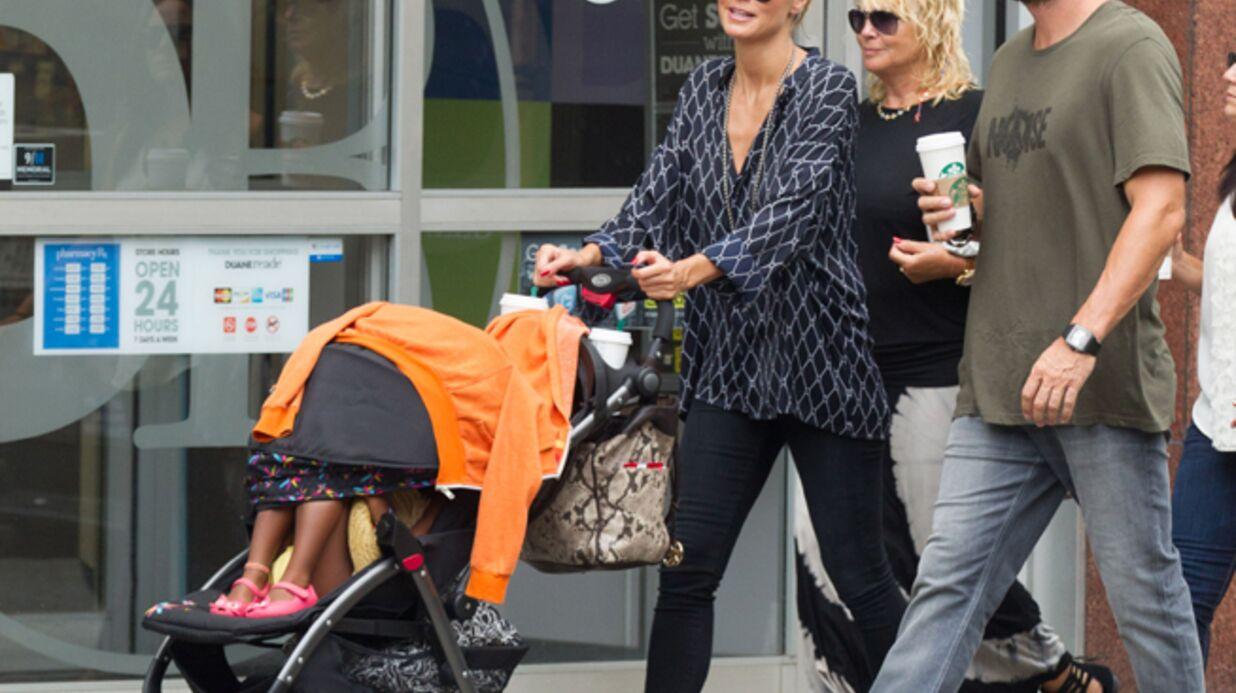 La poussette d'Heidi Klum serait dangereuse pour les bébés