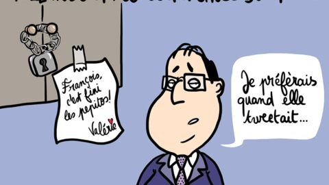Louison a croqué… Le régime de François Hollande a du plomb dans l'aile