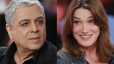 Enrico Macias raconte pourquoi Carla Bruni lui a «passé un savon»