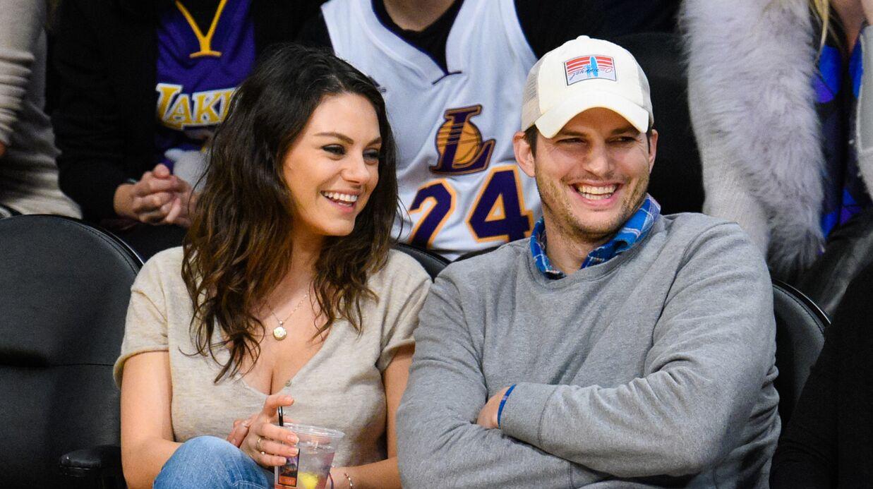 Mila Kunis et Ashton Kutcher: leur fille de deux ans est trilingue