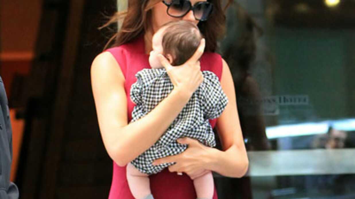 Victoria Beckham: Harper Seven à la fashion week