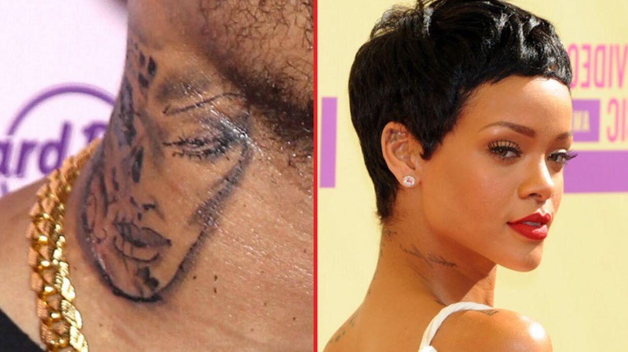 Chris Brown ne s'est pas fait tatouer le visage de Rihanna